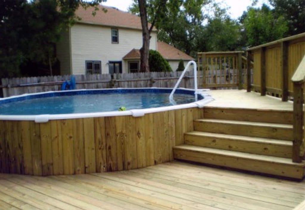 pool decking service