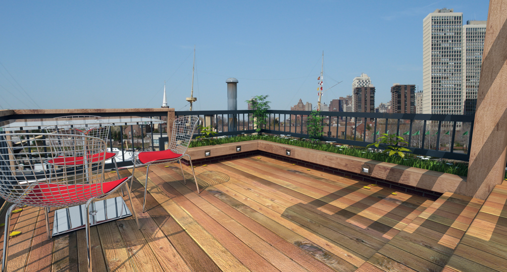 rooftop deck builder