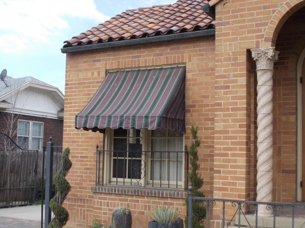 canvas awning
