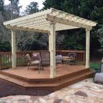 cedar deck building